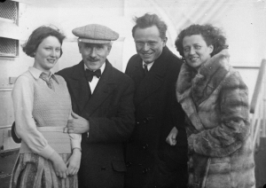 Irene Busch, Arturo Toscanini, Adolf et Frieda Busch en 1932