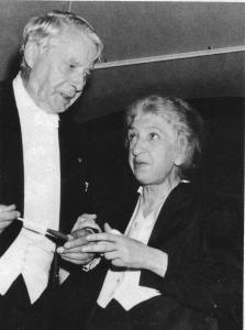 Clara Haskil et Charles Munch à Boston en 1956