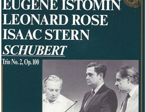 Schubert. Trio N° 2 D. 929