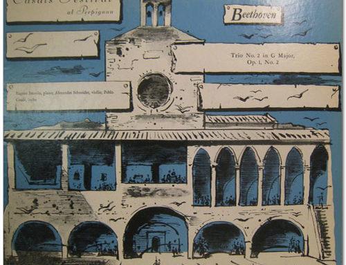 BEETHOVEN. Trio opus 2 n° 2