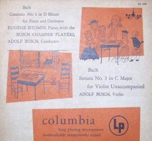 bach Busch LP