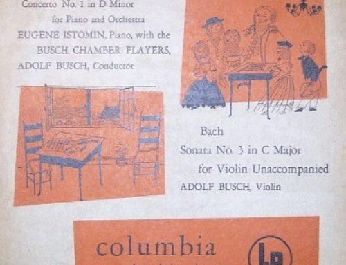 J. S. BACH, Concerto en ré mineur BWV 1052