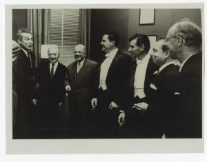 Schneider, Horszowski, Casals, Istomin, Bernstein, Stern et Serkin à Carnegie Hall en 1958