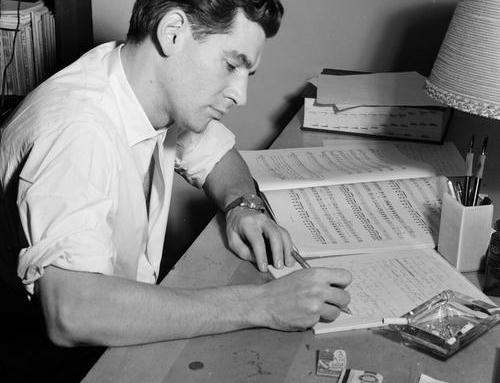Bernstein, chef et compositeur