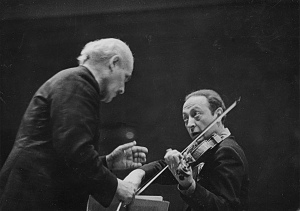 Heifetz avec Toscanini