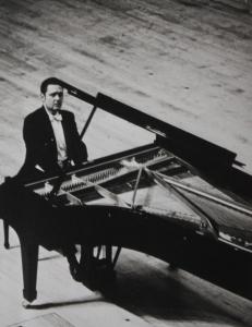 Istomin at the piano
