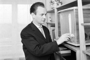 06.1962. Polski dyrygent Jerzy Semkow. PAP/Baracz