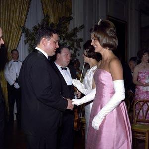 Eugene Istomin et Jackie Kennedy