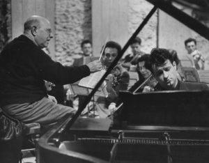 Avec Casals à Prades en 1953