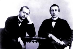 Siloti à l'époque où il était le professeur de Rachmaninov