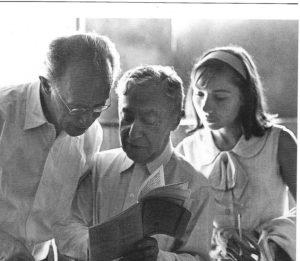 Avec Rudolf Serkin et Ruth Laredo à Marlboro