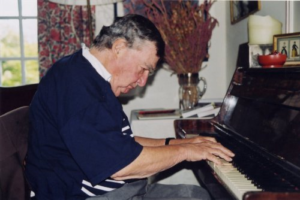 Salinger au piano