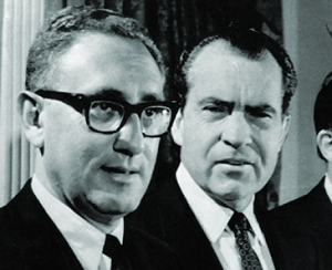 Henry Kissinger et Richard Nixon