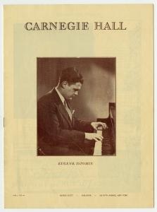 Récital à Carnegie Hall. 1946