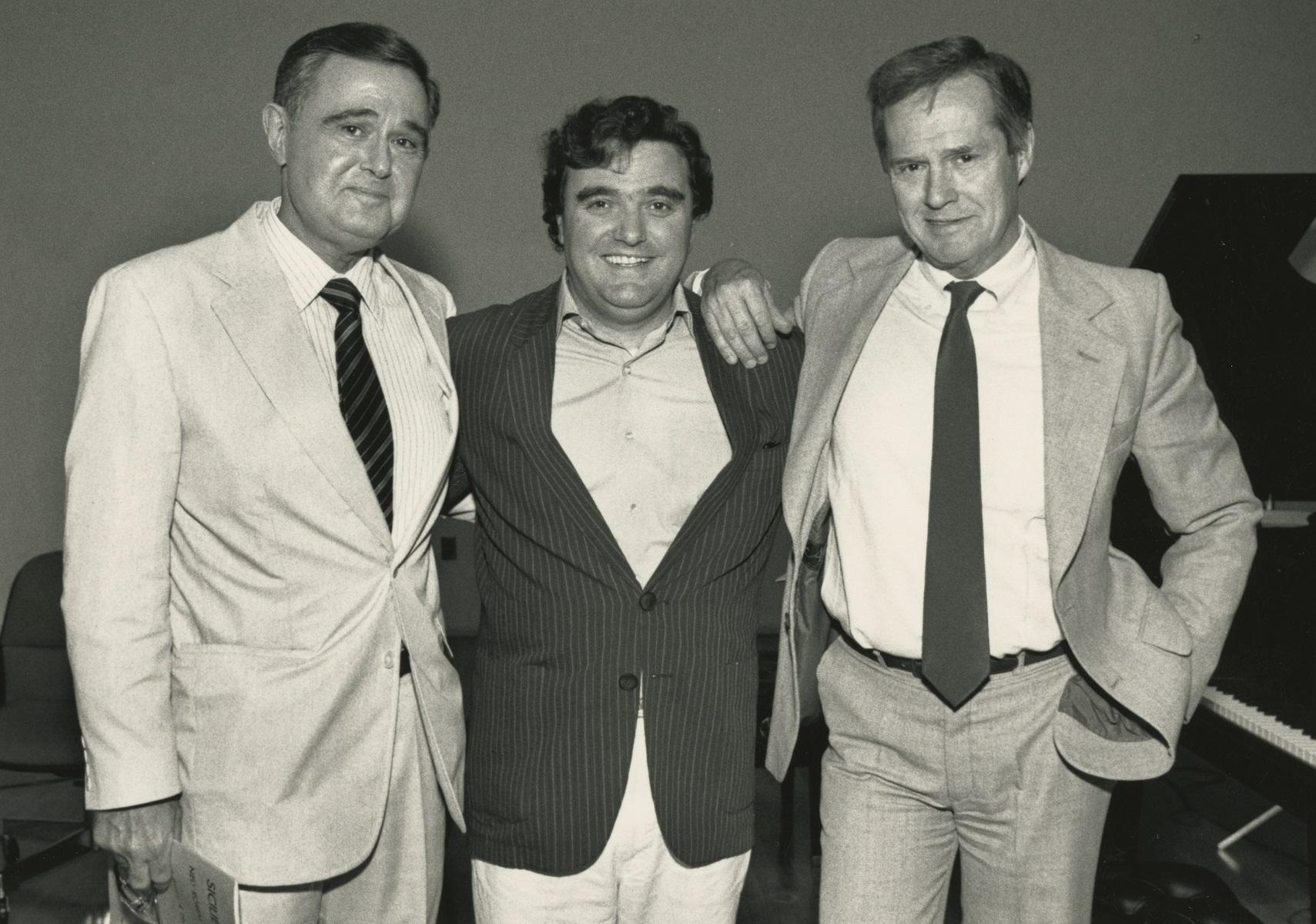 Istomin, Pommier et Rorem au Concours 1987