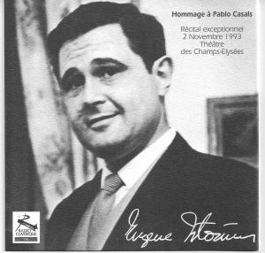Edition en CD du récital du 2 novembre 1993