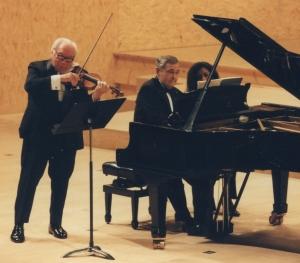 Isaac Stern et Istomin à Evian en 1997