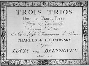 Beethoven Trio édition 001