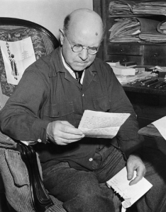 Casals lisant 1950