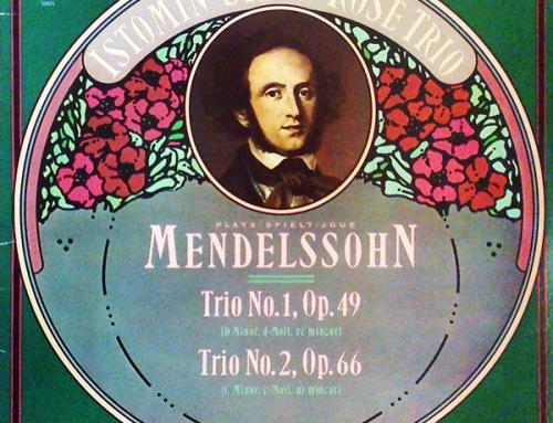 Mendelssohn, intégrale des trios