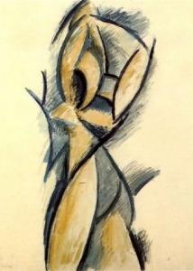 Picasso, Etude pour Trois femmes (1908)