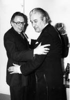 Pierre Vozlinsky et Celibidache en 1977