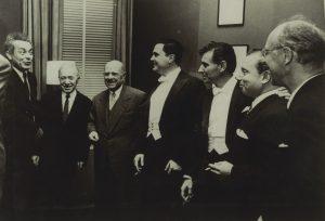 1958 carnegie hall, Schneider, Bernstein, istomin, Casals, etc