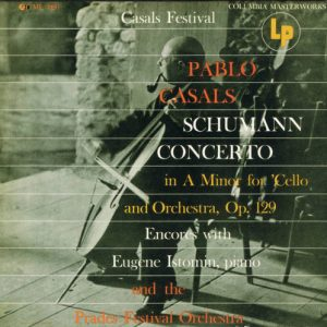 Schumann Cello Concerto Casals original