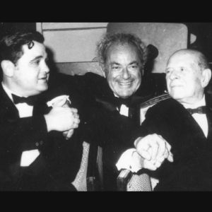 Istomin, Schneider et Casals à Porto Rico en 1959