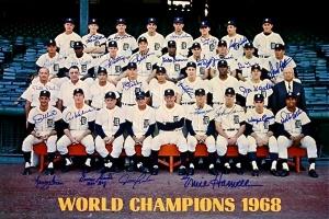 Les Detroit Tigers, champions du monde 1968