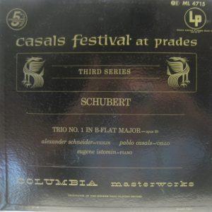 Schubert Trio 1 casals +