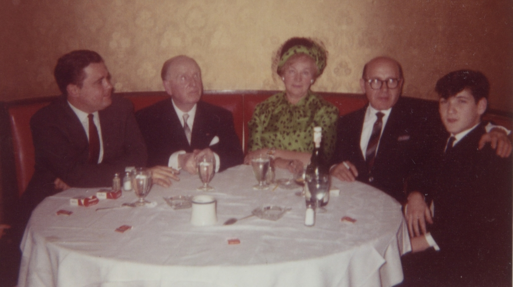 Istomin, Paul et Yolande Paray, Vladimir Brailovsky et Pinchas Zukerman
