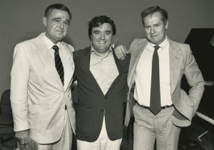 1987 Photo with Pommier and Rorem