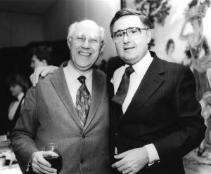 1988 Istomin avec Slava après Brahms 2