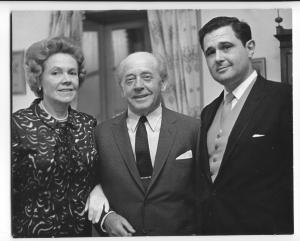 Istomin avec Ormandy et sa femme