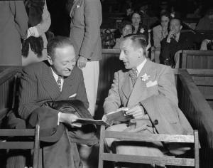 Jascha Heifetz et Vladimir Horowitz