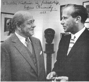 Eugene Ormandy et Milton Katims