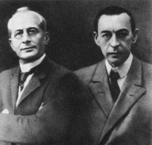 Alexandre Siloti et Serge Rachmaninov