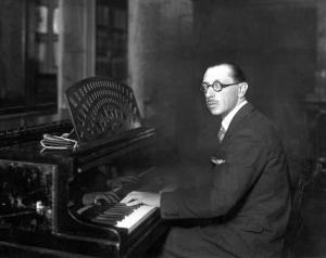 Stravinsky au piano