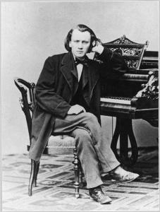 Brahms au piano
