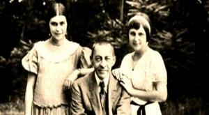 Rachmaninov et ses filles, Irina et Tatiana