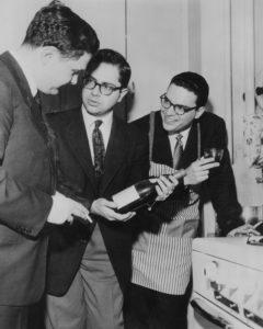 Eugene Istomin, Gary Graffman et Leon Fleisher, trois œnologues patentés