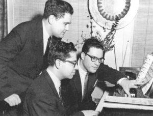 Istomin, Graffman et Fleisher penchés sur la partition