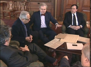 Leon Fleisher, Gary Graffman, Emanuel Ax and Yefim Bronfman