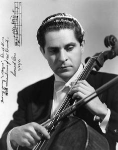 Leonard Rose au début de sa carrière de soliste