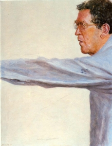 Avigdor Arikha, autoportrait