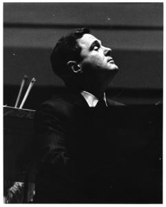 Istomin à Ann Arbor avec l'Orchestre National de France en 1967