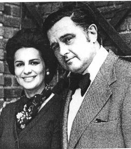 Eugene et Marta Istomin en 1976, photo de l'article