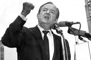 Hubert Humphrey en campagne
