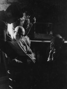 Istomin, Casals, Foley et Serkin écoutant les play-back des Sonates de Beethoven à Prades en 1953